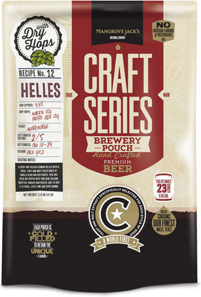 Mangrove Jack's Craft Series Helles Lager with Dry Hops