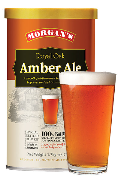Morgans - Royal Oak Amber Ale 1.7kg