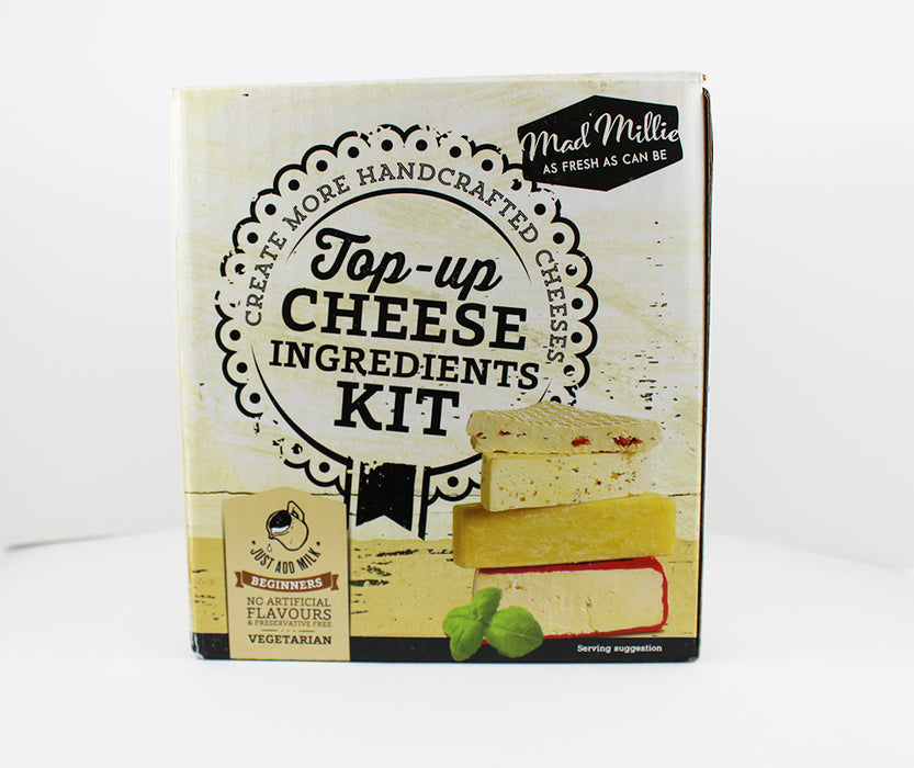 Mad Millies Top-up Cheese Ingredients Kit
