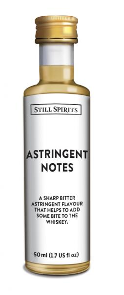 SS Profiles Whiskey Astringent Notes