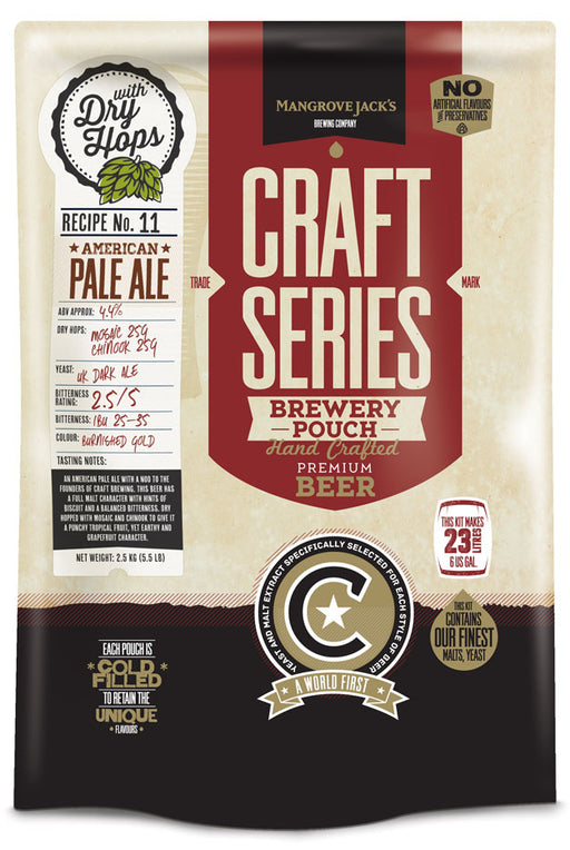 Mangrove Jack's Craft Series American Pale Ale