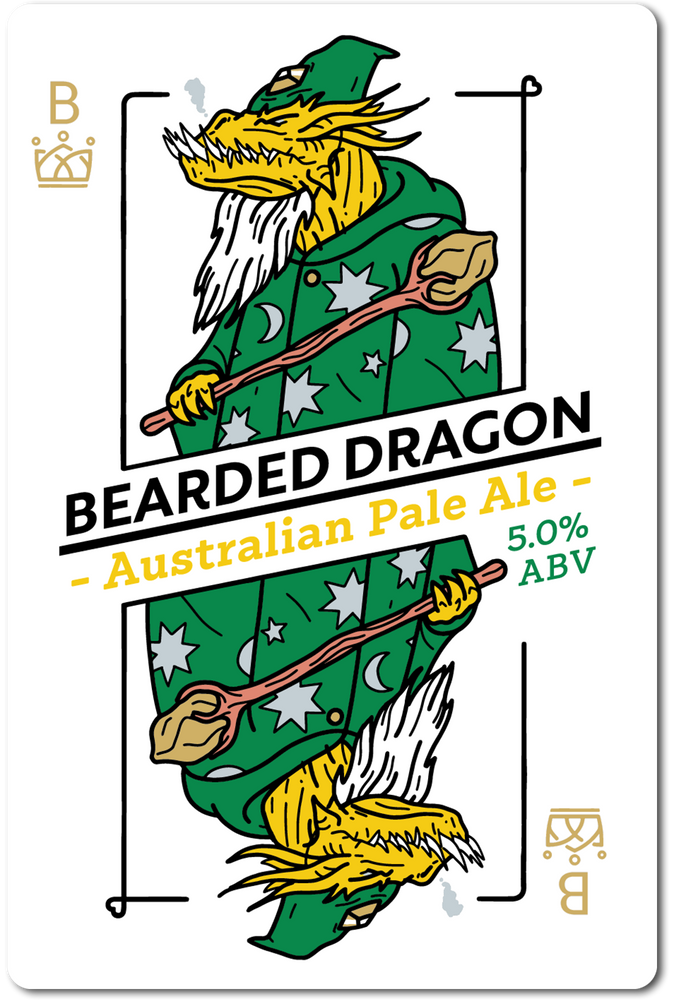 BEARDED DRAGON (AUSTRALIAN IPA) IN STORE ONLY