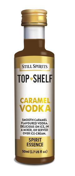 SS Top Shelf Caramel Vodka