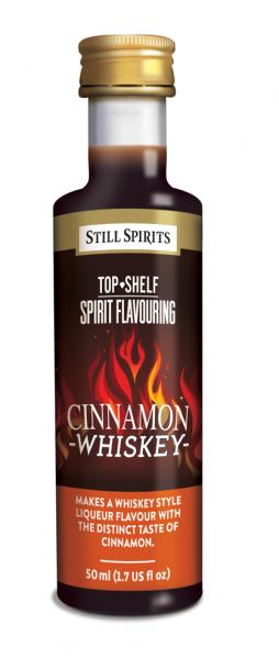 SS Top Shelf Cinnamon Whiskey
