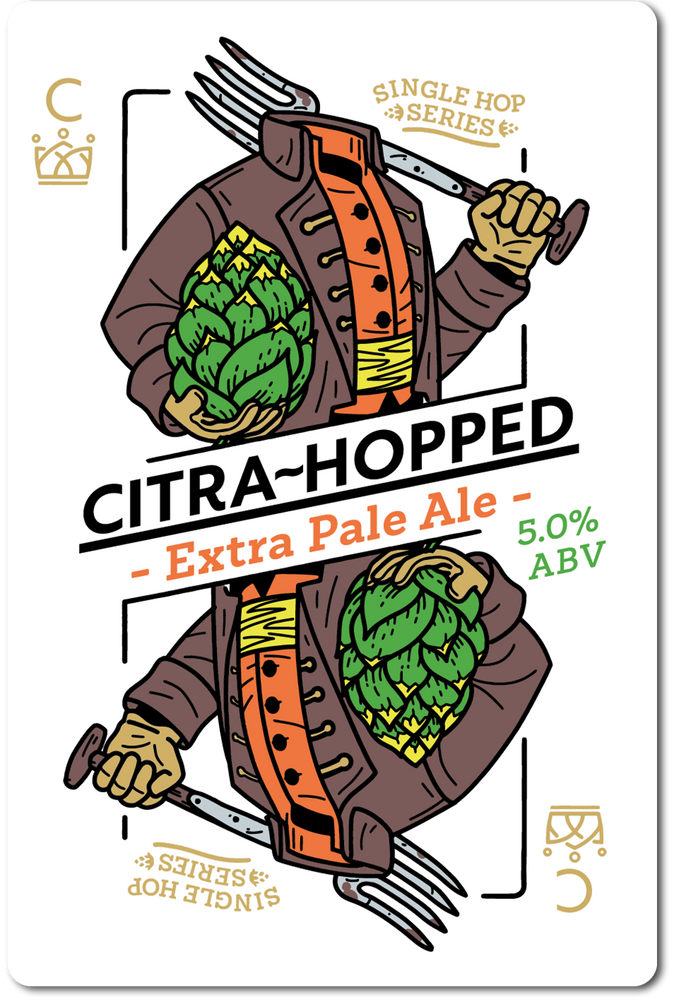 CITRA HOPPED (EXTRA PALE ALE) IN STORE ONLY