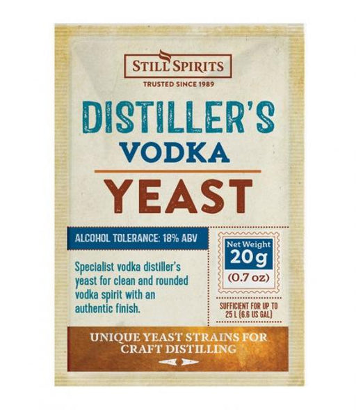 SS Distiller's Yeast Vodka 20g