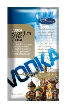 Premium Vodka Essence - 1 Litre flavour shot