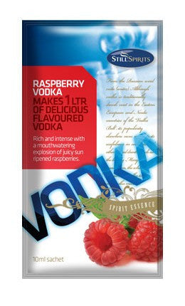 Raspberry Vodka Essence - 1 Litre flavour shot.