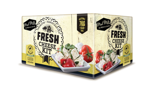 Mad Millie Fresh Cheese Home Cheese making Kit
