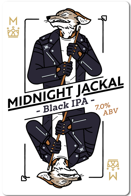 MIDNIGHT JACKLE (BLACK IPA) IN STORE ONLY