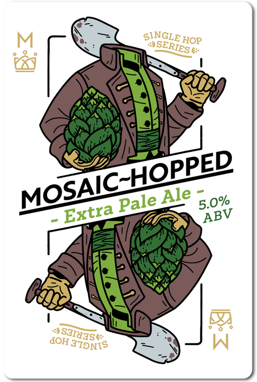 MOSAIC-HOPPED (EXTRA PALE ALE) IN STORE ONLY