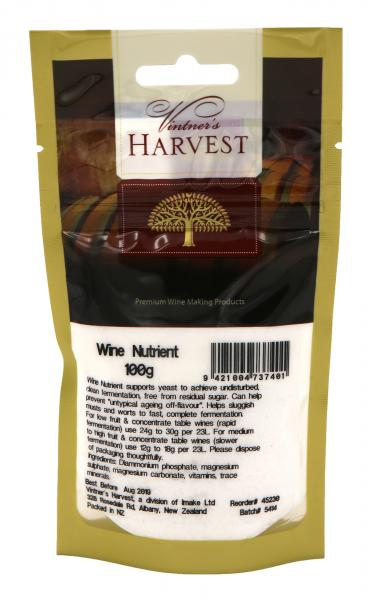 Vintner's Harvest Wine Nutrient 100g