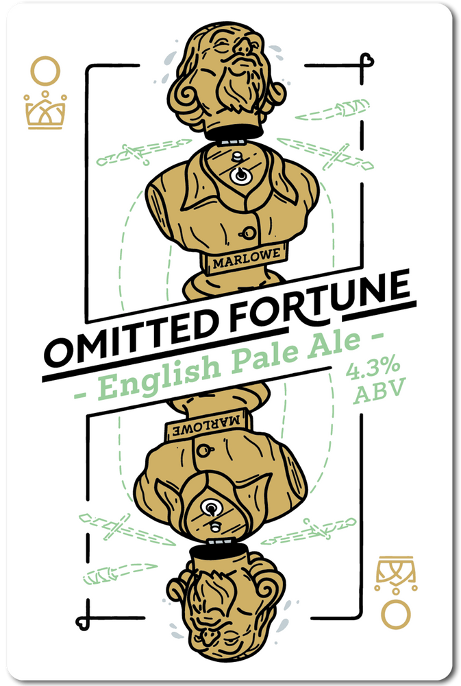OMITTED FORTUNE (ENGLISH PALE ALE) IN STORE ONLY