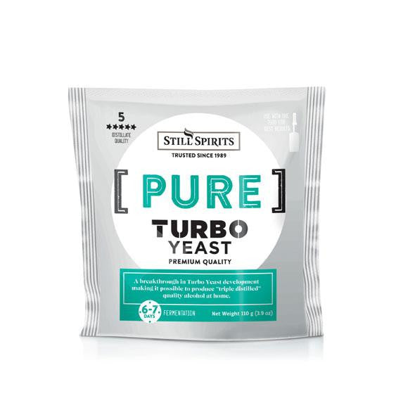 Turbo Triple Distilled (Pure) Yeast