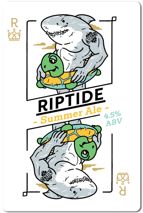 RIPTIDE (SUMMER ALE) IN STORE ONLY