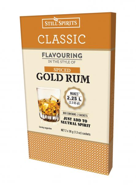 Classic Spiced Gold Rum 2 x Sachets