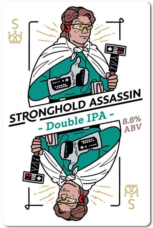 STRONGHOLD ASSASSIN (DOUBLE IPA) IN STORE ONLY