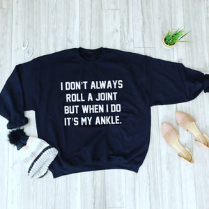 Joint Graphic SweatShirt LATASHANICOLE