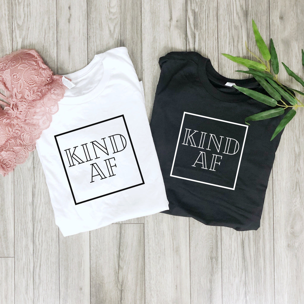 KIND AF Short-Sleeve Unisex T-Shirt LATASHANICOLE