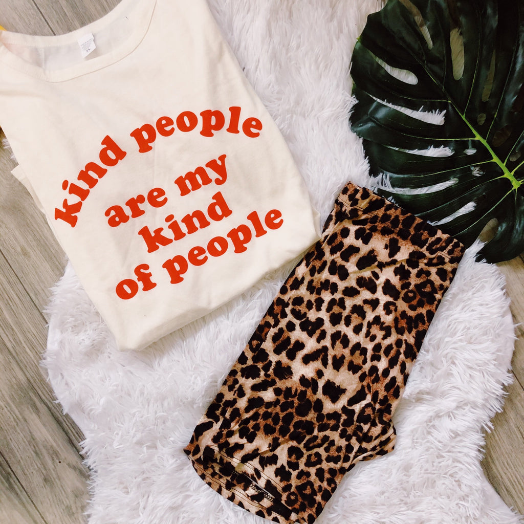 Kind People Graphic Tee LATASHANICOLE