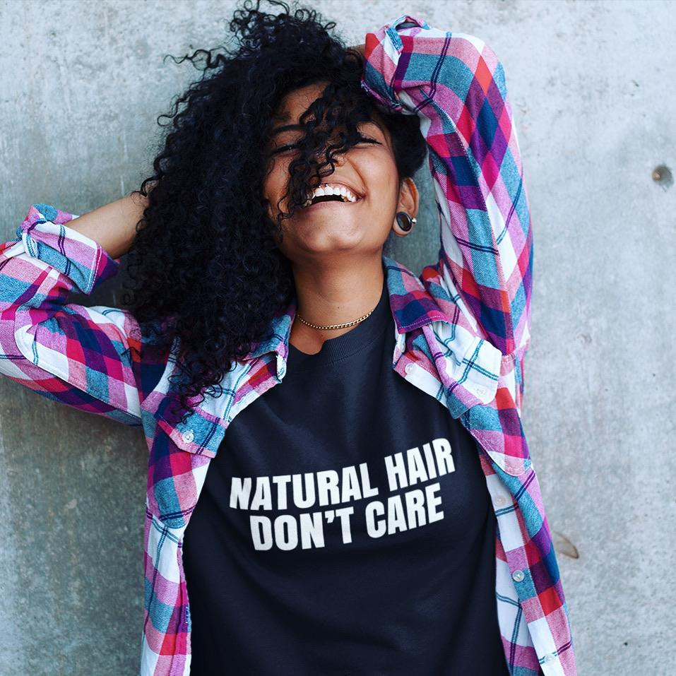 NATURAL HAIR Short-Sleeve Unisex T-Shirt LATASHANICOLE