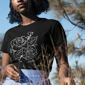 Rose Girl Gang Tee LATASHANICOLE