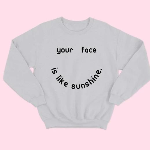 SUNSHINE Crewneck Graphic Sweatshirt LATASHANICOLE