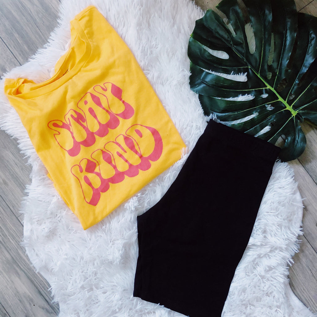 Stay Kind Graphic Tee LATASHANICOLE