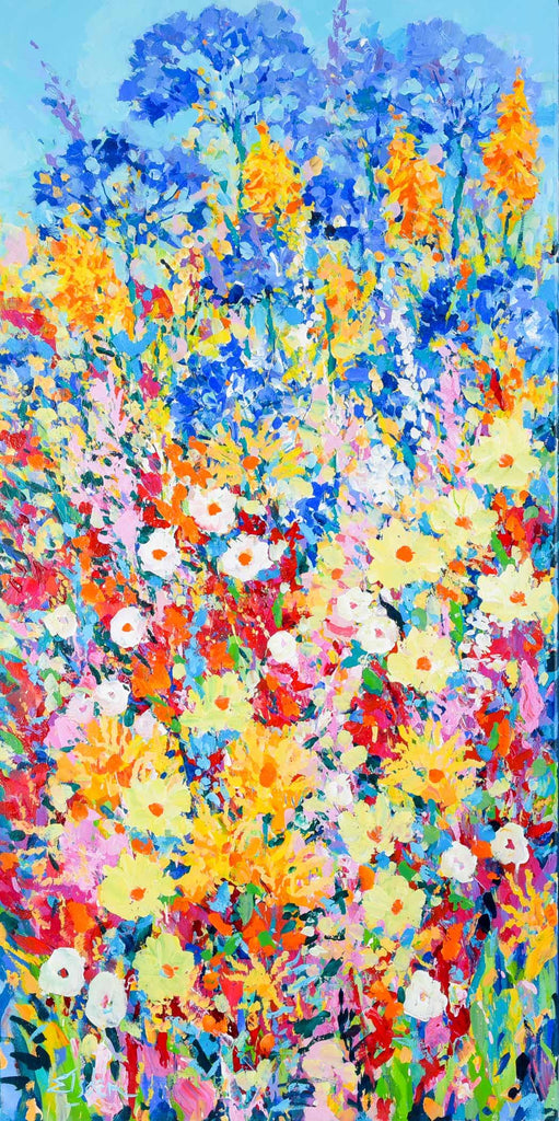 High Summer Border - 121 x 61cm