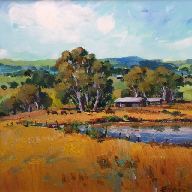 Darling Downs Farm 25 x 25 cm