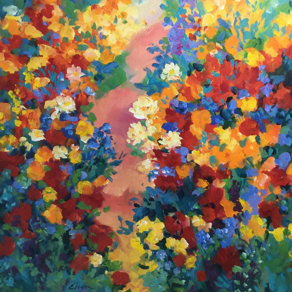 Flower Borders 60 x 60 cm