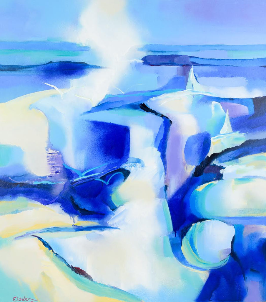 Rock Pool Mooloolaba - 101 x 91cm