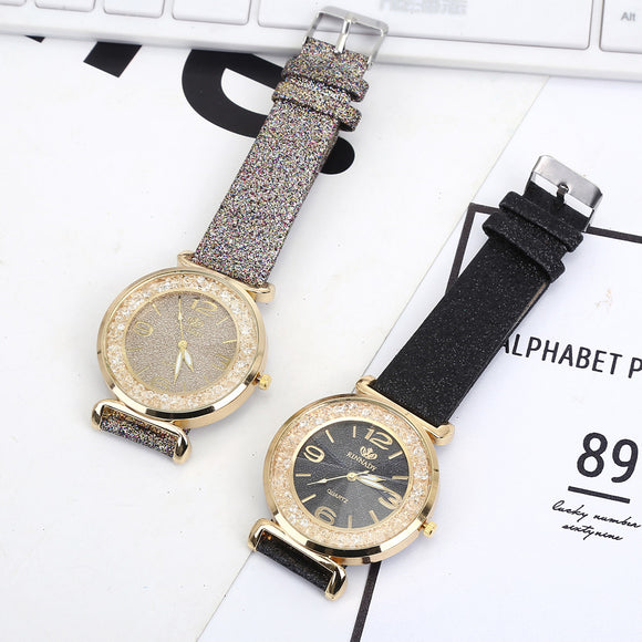 Bowake rhinestone Watch