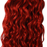 Brazilian Water Wave Red Bundles With Closure