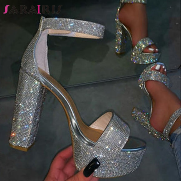 Wedding Crystal Shoes