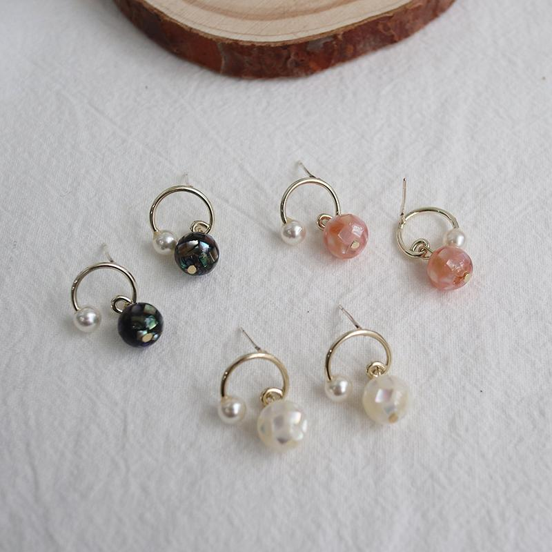 Mosaic Vintage Bead Earrings - Bolino Studio