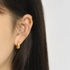 S925 Minimalist Gold Hoop Earrings