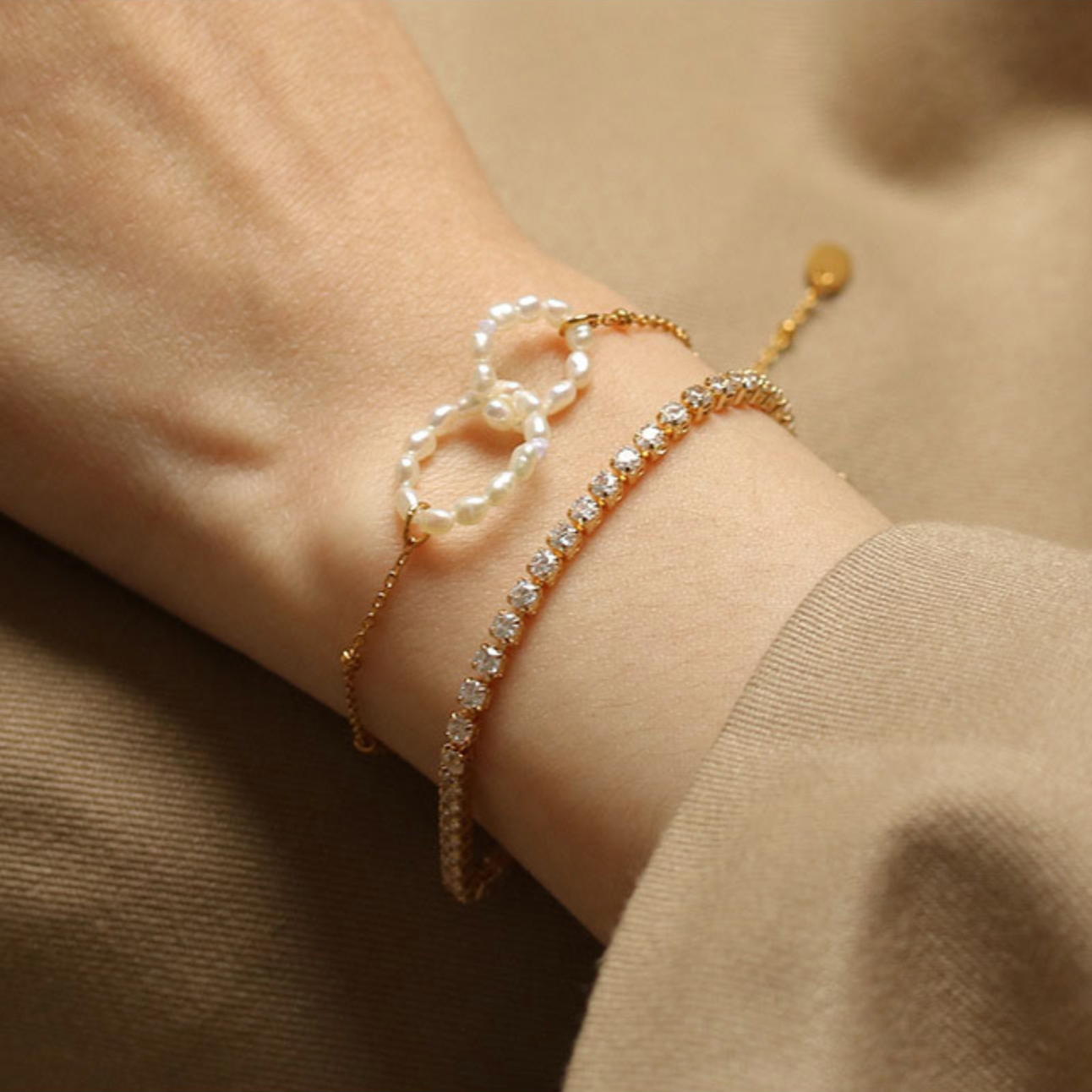 French Style Pearl Bracelet