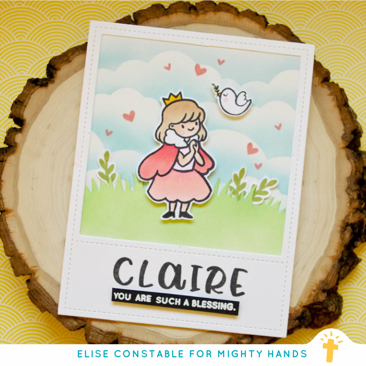 Handwritten Alpha Clear Stamps