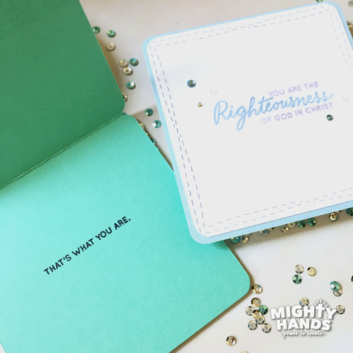Righteous Words Clear Stamps