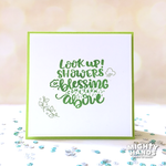 Showers of Blessing Clear Stamps