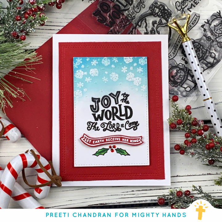 Joy to the World Clear Stamps