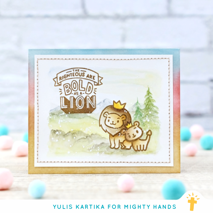 Bold as a Lion Clear Stamps