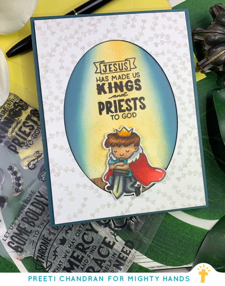 Kings and Priests Clear Stamps