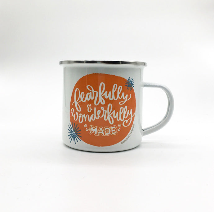 Fearfully & Wonderfully Made Enamel Mug