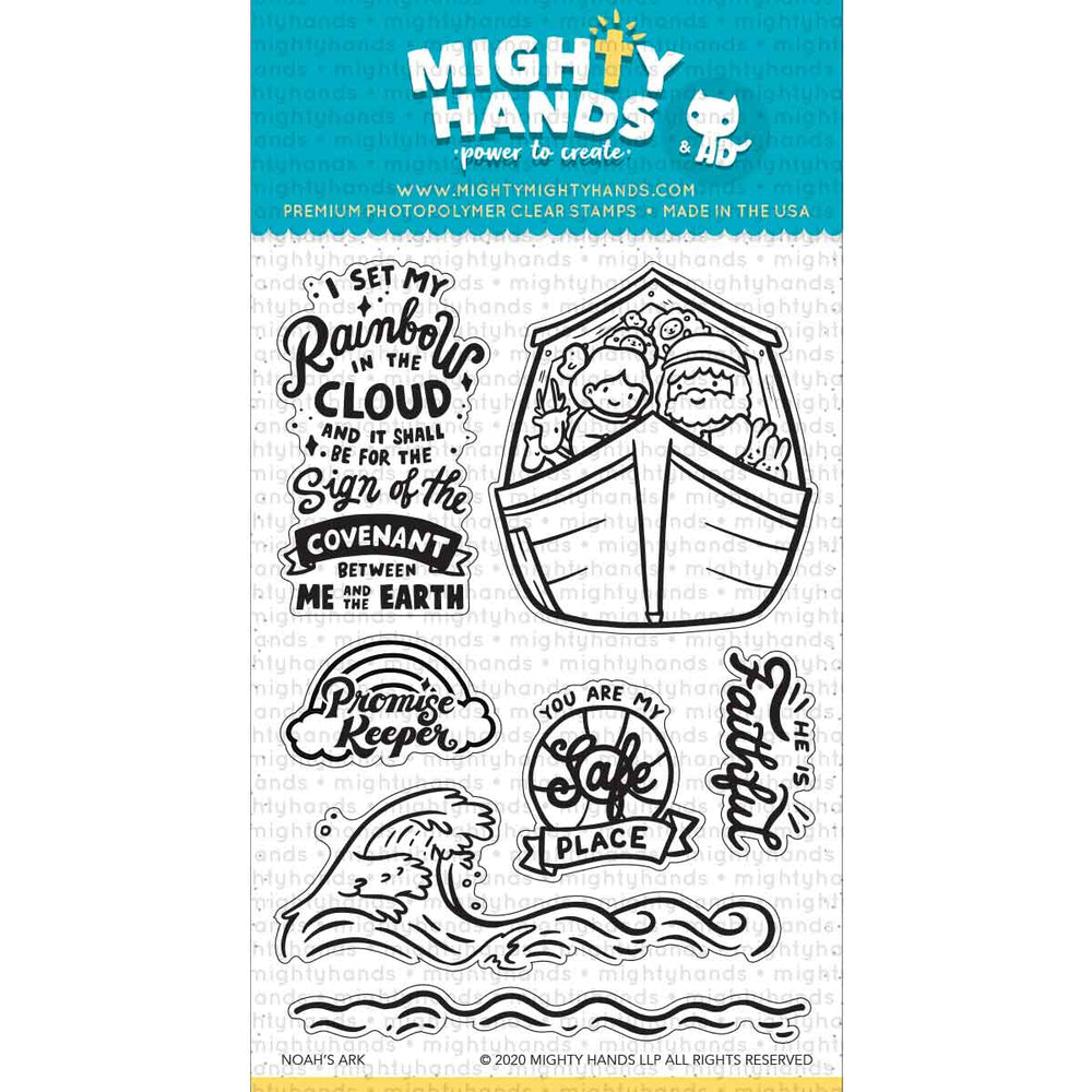 Noah's Ark Clear Stamps