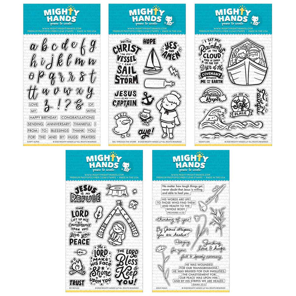 Aug 2020 Full Release Bundle Clear Stamps