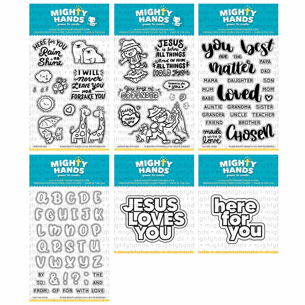 Sep 2020 Full Release Bundle Clear Stamps & Dies