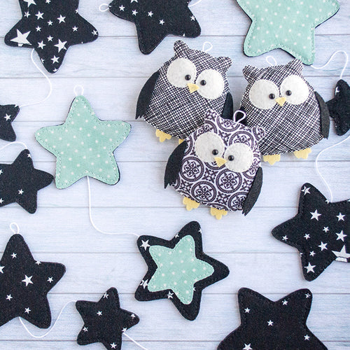 Black_garland_with_owls_for_kids_room