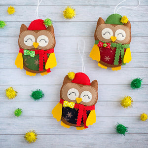Felt_Christmas_ornaments_cute_owls